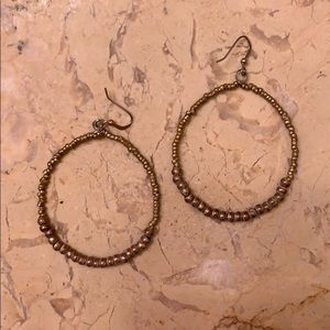 Hoop Earrings by Noon day collection